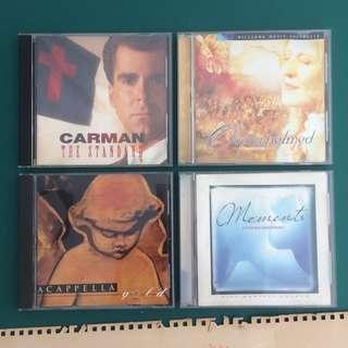 4 Christian Music CDs