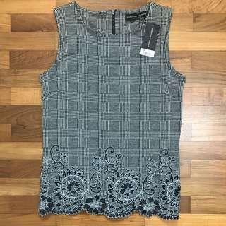 Grey Sleeveless Top from Dorothy Perkins