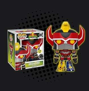 44f231ba964 FUNKO POP - POWER RANGERS - MEGAZORD 6 SUPER SIZED GLOW IN THE DARK