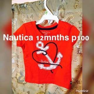 Baby T Shirt Nautica 12 months