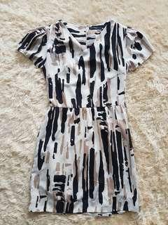 Tricolour dress