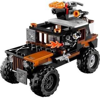 LEGO crossbones' hazard heist 76050 truck crossbone minifigure