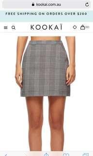 Kookai Harvard Skirt