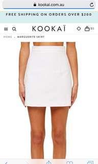 White Kookai Skirt