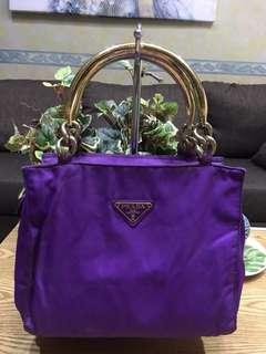 Prada top handbag