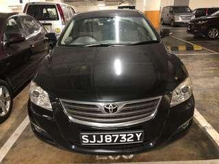 Toyota Camry 2.0a - Car Rental