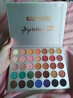 Beautyglazed Impressed you palette