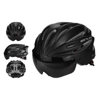 🅝🅔🅦:GUB K80 PLUS Integrated Magnetic Riding Helmet Goggles