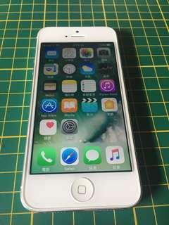🚚 Apple iPhone 5 白色 16G 有盒裝 便宜售(可議價)~