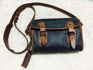 💯Authentic Preloved Ralph Lauren Mini Messenger Bag