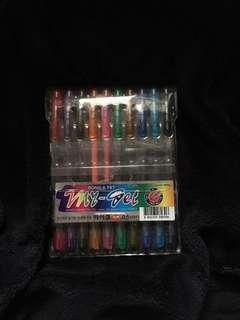 My-Gel Ding-A Colored Pens Set (10 pcs)