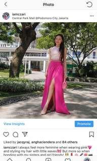 Pink Gown Dress for Rent
