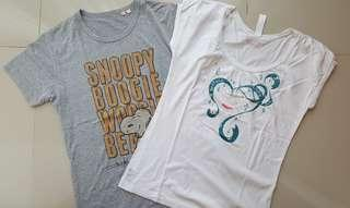UNIQLO tshirt set of 2