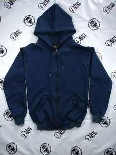 Sweater switer hoodie zipper premium tebal