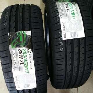 205.45.17 Rovelo Sport A1 New Tyre