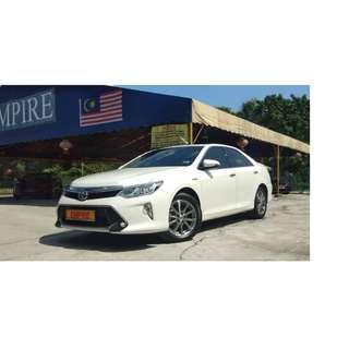 TOYOTA CAMRY 2.5 ( A ) HYBRID !! 5 MONTH OLD CAR ONLY !! WARRANTY TILL 2023 !! LUXURY FULL HIGH SPECS !! ( VXX 7888 ) 1 CAREFUL OWNER !!