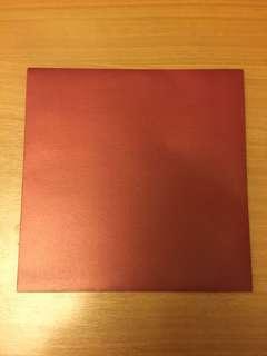 紅色封100個 size 16cm x 16cm