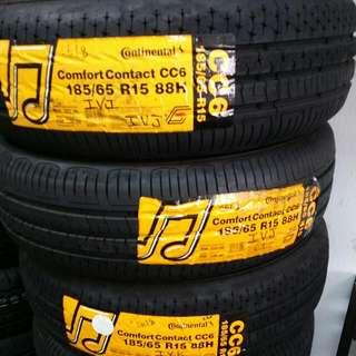 185/65R15 Continental CC6 New Tyre
