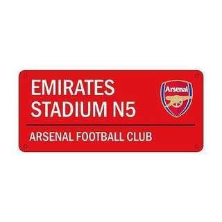 Football Soccer Team 3D street sign decal arsenal liverpool
