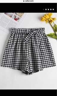 Zaful paper bag shorts