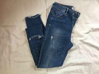 Stradivarius Ripped Jeans