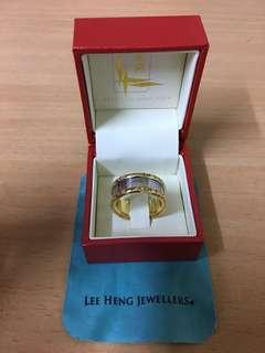 Lee Heng gold ring unique design