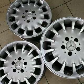 "Mercedec Sport Rims 16"" Original"