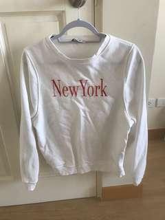"""Mango """"New York"""" sweatshirt"""