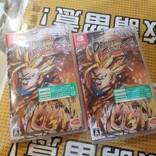 (全新 旺角/銅鑼灣門市現貨)全新 Switch Dragonball FighterZ 七龍珠 只售$385