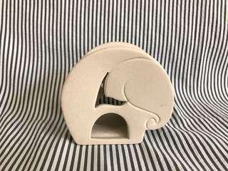 🚚 大象造型精油加熱陶碗