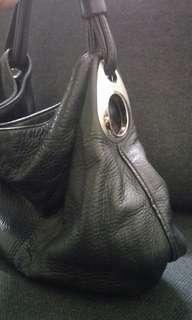 Oroton leather hobo bag