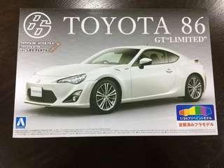 Aoshima Gt86 limited/ Scion FRS/ BRZ