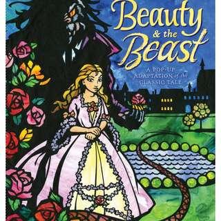 Beauty and the Beast 立體故事書