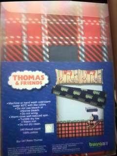 倍莎正版Thomas 火車頭四尺雙人被袋$180