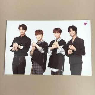 OFFICIAL SEVENTEEN PERFORMANCE TEAM IDEAL CUT JAPAN TRADING CARD