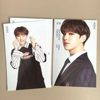 OFFICIAL SEVENTEEN HOSHI IDEAL CUT JAPAN TRADING CARD