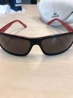 Lacoste Sunglasses Red - Authentic