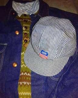 🇺🇸美國製1980s Vintage worker's cap