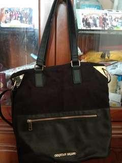 Hand Bag Christian Siriano Black