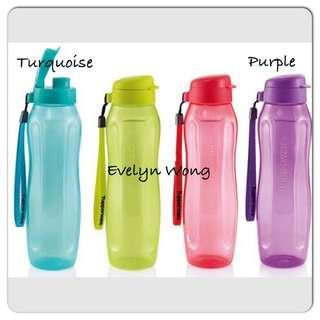 🍧 Tupperware 1L Slim Eco Water Bottle Flip Top