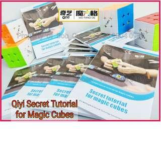 - Qiyi Secret Tutorial for Magic Cubes Book For Sale