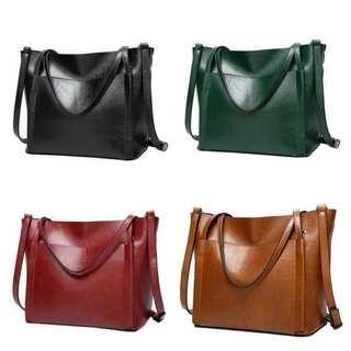 ALL 4 ONLY RM50!!! Women Leather Handbag Ladies Shoulder Bag Crossbody Tote Shopper Large Satchel