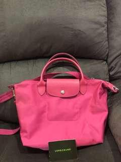 Longchamp bag pink muda