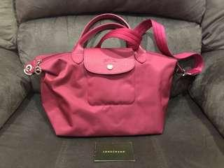 Longchamp bag pink tua