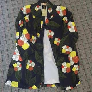 Floral Oversize Jacket / Blazer / Coat