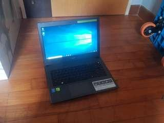 Acer E5-473g Gaming i5,2gb graphic CHEAP!!