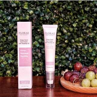 Grape Seed Eye Cream with Rosehip Oil New Zealand Florae