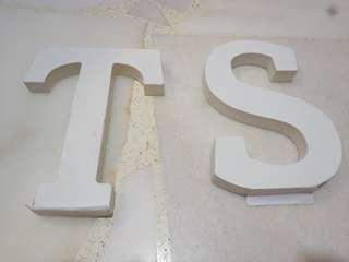 Letter stand display