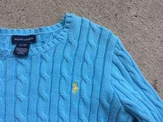 Ralph Lauren blue knit jumper