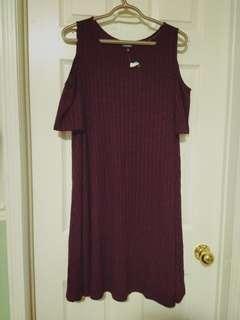 BNWT Cold shoulder dress/shirt